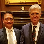 Danny and Justice Neil Gorsuch at Investiture 2017 June